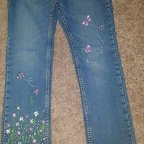 Unique Hand Made Painting Jeans Photo