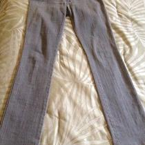 Unique Rare Gray Dvb Victoria Beckham Denim Jeans Size 28 With Stars on Pockets Photo