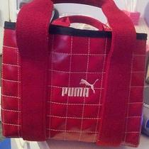Unique Rare Puma Red Handbag Tote Pocketbook Photo
