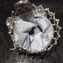 Unique Rare Whiting Davis Silver Chain Mail Purse Mint Condition Photo