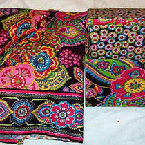Unique Vera Bradley Symphony in Hue Apron & Recipe Box Beautiful Set Nice Gift  Photo
