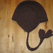 Unisex Adult  Burton Wool Blend  Hat  With Ear Flaps Brown  Photo