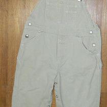 Unisex Baby Gap Brand Khaki Overalls Size 3 Years Xl / 24x12  Photo