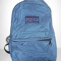 Unisex Blue Jansport Backpack Photo