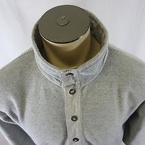 Unisex Columbia Pullover Collared Outdoor/camping Sweatshirt - Gray - Size Large Photo