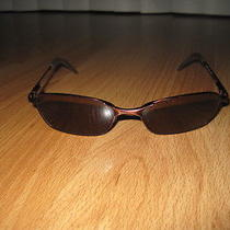 Unisex Fossil Sunglasses Glasses Shades Brown Frames Ear Grips Photo