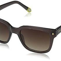 Unisex Fossil Tolson Classic Square Retro Brown Sunglasses Fos3008s  Photo