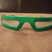 Unisex Green Prism Rave Sunglasses Photo