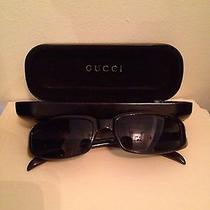 Unisex Gucci Sunglasses Fashion Vintage Black Photo