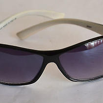 Unisex Gucci Sunglasses J6261 Black/white Frame  Italy                     Photo