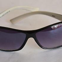 Unisex Gucci Sunglasses J6261 Black/white Frame  Italy                     Photo