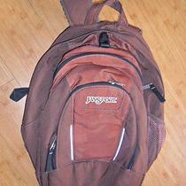 Unisex Jansport Padded Organizer Laptop School College Backpack Brown/bronze Photo