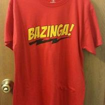 Unisex the Big Bang Theory Bazinga Graphic T-Shirt Medium Free Shipping Photo