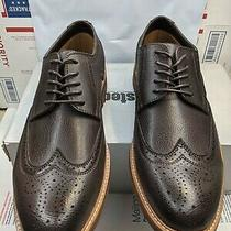 Unlisted by Kenneth Cole Men's Jimmie Lace Up Size 12 Color Dark Brown New N Box Photo
