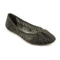 Unlisted Kenneth Cole Save the World Womens Size 7.5 Black Textile Flats Shoes Photo