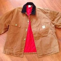Unused Carhartt Mens Barn Coat Size 54 2xl Photo