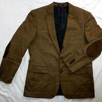 Unworn Barbour Robert Noble Tweed Wool Brown Button Up Men Blazer Jacketsize L Photo