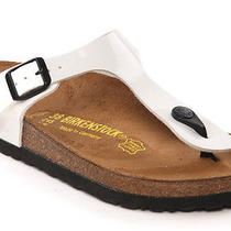Unze L24800 Womens Ladies Birkenstock Gizeh Thong Flats Sandals Sizes Uk 3 - 8 W Photo