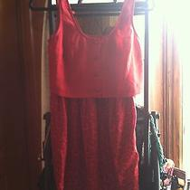 Urban Outfitters Asos Red Dress Size Small Photo