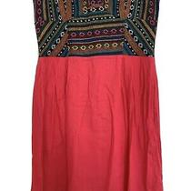 Urban Outfitters Bandeau Dress Navajo Pattern Pink Size 12 Photo
