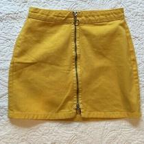 Urban Outfitters Bdg Adonita Zip Front Mini Skirt Sz S Photo