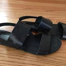 Urban Outfitters Bdg Black Strap Sandals Us W Size 8  Photo