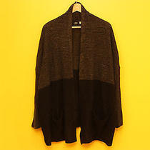 Urban Outfitters Bdg Knit Black Gray Acrylic Sweater Size M Photo