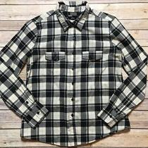 Urban Outfitters Bdg Plaid Button-Down Shirt Classic Fit Small Photo