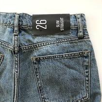 Urban Outfitters Bdg Slim Straight Cut Off Jeans Nwt Size 26 Photo