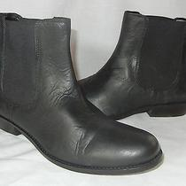 Urban Outfitters Bdg Women's Chelsea Leather Boots Size 8.5 Photo