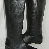 Urban Outfitters Bdg Women's Tall Leather Riding Boots Size 9 Photo