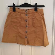 Urban Outfitters Beige Denim Skirt Photo