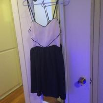 Urban Outfitters Black and White Dress Medium Photo
