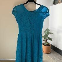 Urban Outfitters Blue Lace Dress Size Small Photo