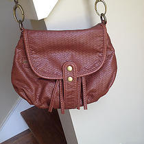Urban Outfitters Cognac Leather Crossbody Photo