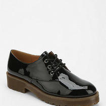 Urban Outfitters Cooperative Vegan Patent Gum Sole Oxford Size 6 Originally 59 Photo