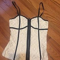 Urban Outfitters Cream Lace Corset Photo