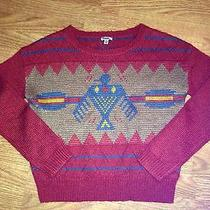 Urban Outfitters Ecote Long Sleeve Tribal Aztec Sweater M New Photo