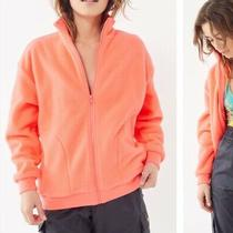 Urban Outfitters Fleece Hot Pink Jacket Xs Photo
