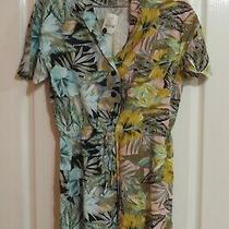 Urban Outfitters Floral Print Play Suit Romper Size S 2 - 4 Photo