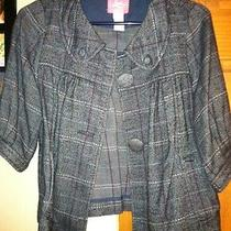 Urban Outfitters Forever 21 h&m Zara Tweed Plaid Jacket Photo