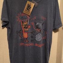 Urban Outfitters Jean Michel Basquiat T-Shirt Size Medium Junk Food Nwt Photo