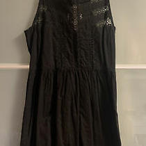 Urban Outfitters Kimchi Blue Black Lace Little Black Dress Size S Photo