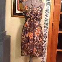 Urban Outfitters Kimchi Blue Floral Multi Strap Dress Sz 10 Photo