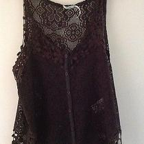 Urban Outfitters Lace See Through Tank Top Photo