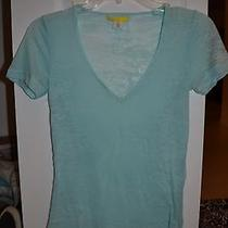 Urban Outfitters Light Blue v Neck Top Photo