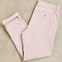 Urban Outfitters Men's Easton Stretch Chino Pants Skinny Blush Size 31x32 Photo