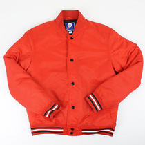 Urban Outfitters Mens Time to Game Jacket Red Small S New Photo