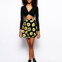 Urban Outfitters Motel Sunflower Circle Skirt American Apparel Aa Forever 21 Photo