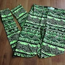 Urban Outfitters Neon Aztec Leggings Photo